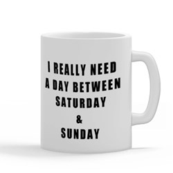 Between Saturday and Sunday