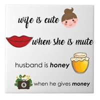 Wife Is Cute, Husband Is Honey Icon