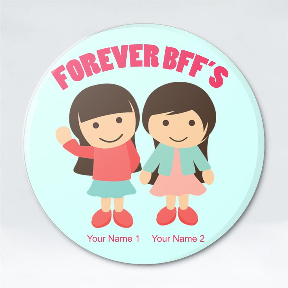 Button Badges > Button Badges (Pin) > Forever Bff