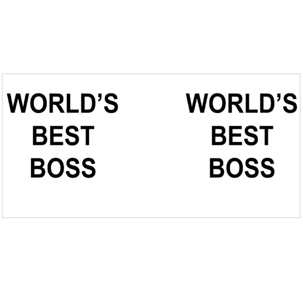 World's Best Boss Colour Mugs