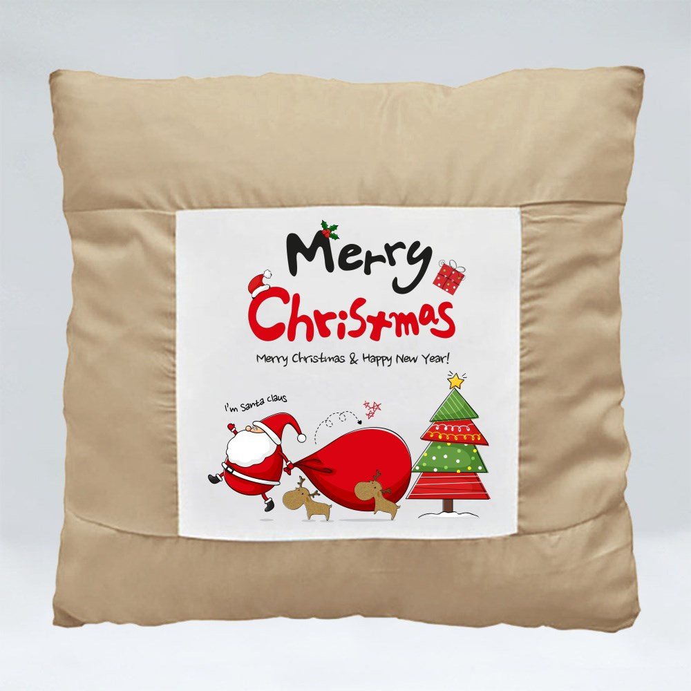 Cushions > Cushions (Square) > Merry Christmas and Happy New Year
