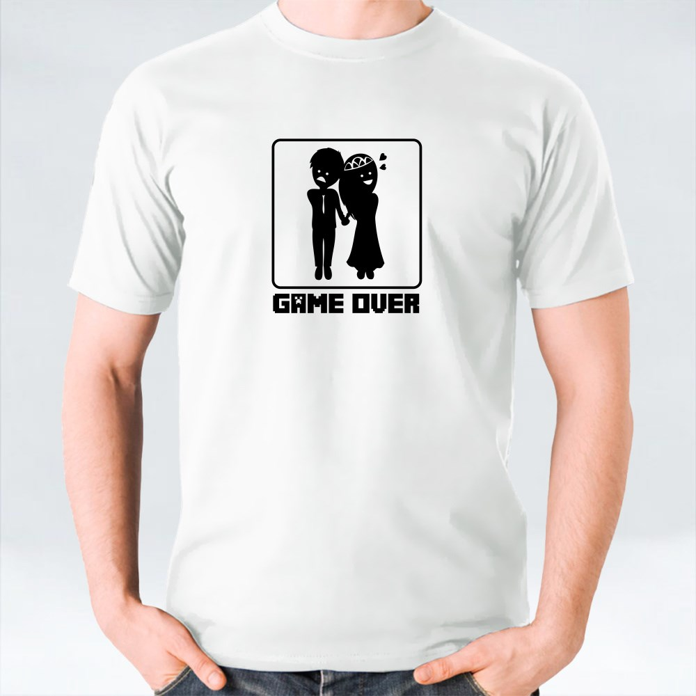 Clothing > T-Shirts > Bride Game Over