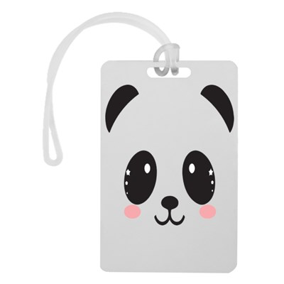 Cute Panda Face With Rosy Cheeks Image