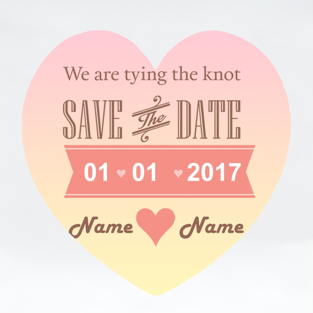 Magnets > Magnets (Love) > Wedding Save the Date