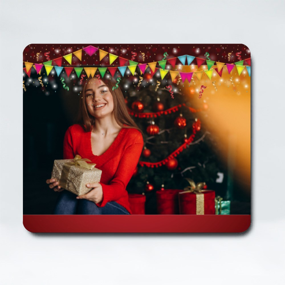 Mousepads > Mousepads (Rectangle) > Red Party Frame
