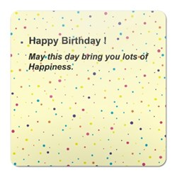 Colour Dots Happy Birthday
