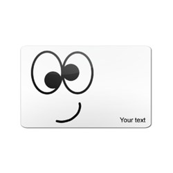 Tokens Happy Face PVC Card