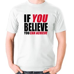 If You Believe You Can