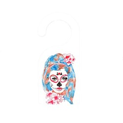 Sugar Skull Watercolor Art