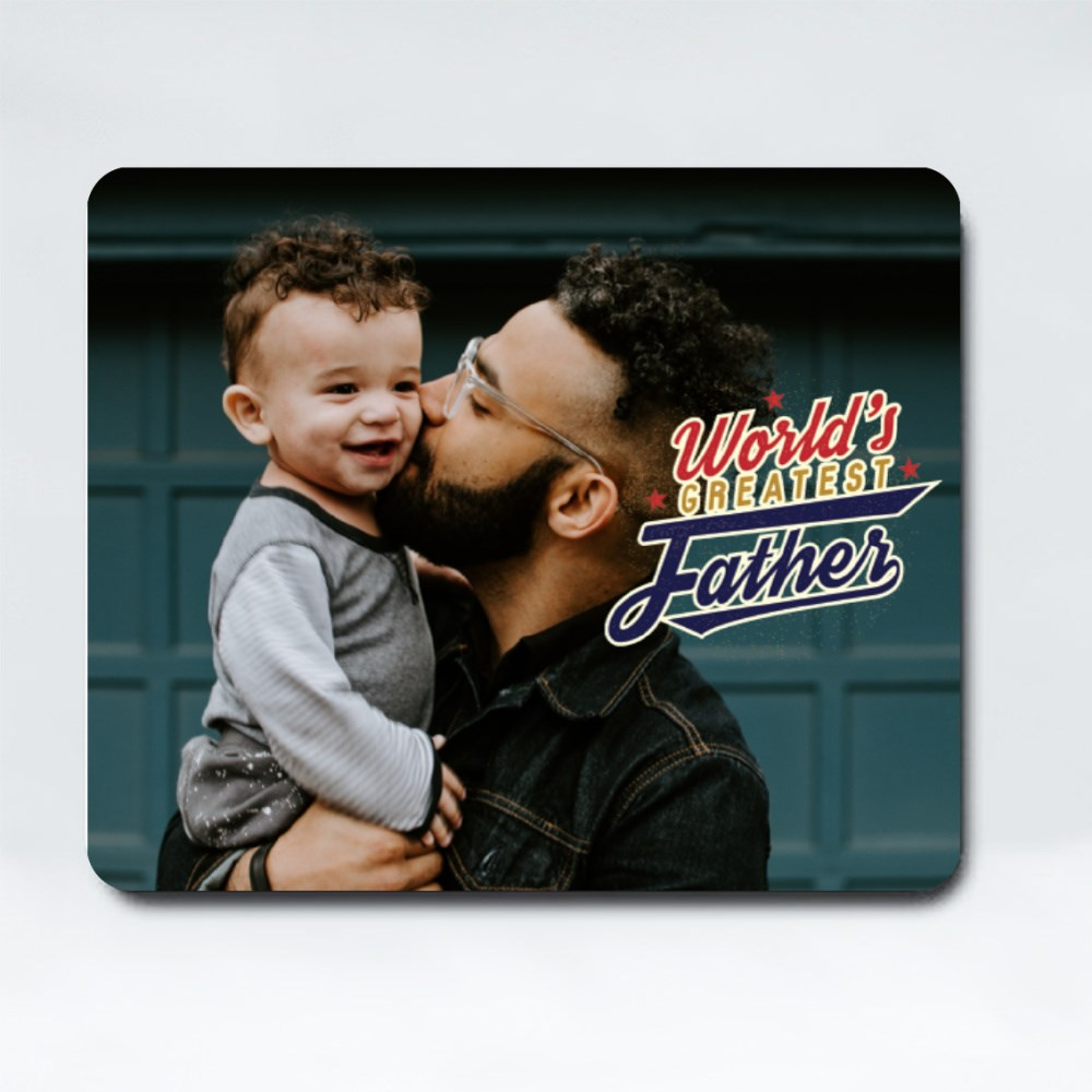 Mousepads > Mousepads (Rectangle) > World's Greatest Father