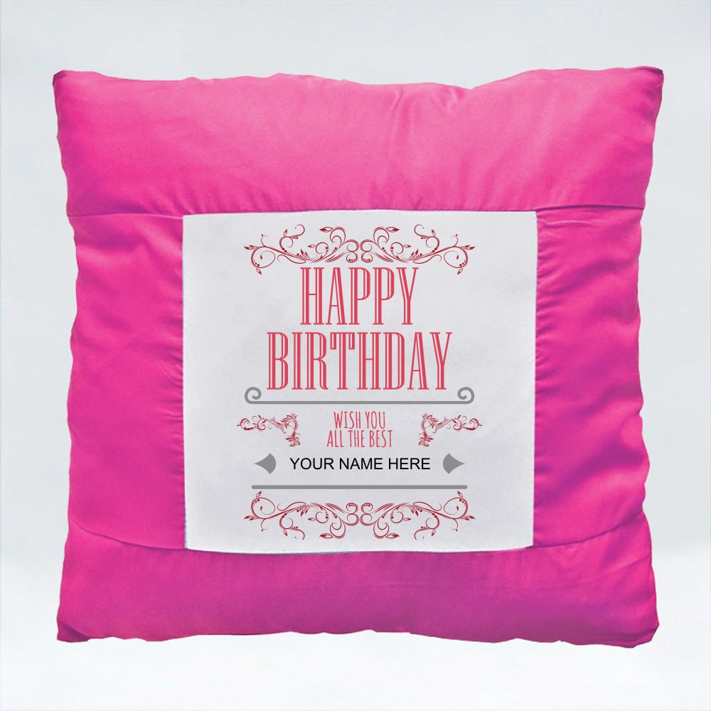 Cushions > Cushions (Square) > Happy Birthday Wish