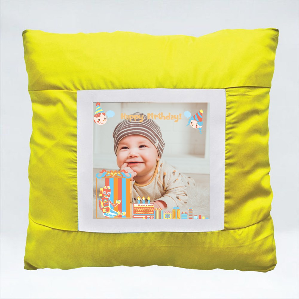 Cushions > Cushions (Square) > Birthday Gift With Picture