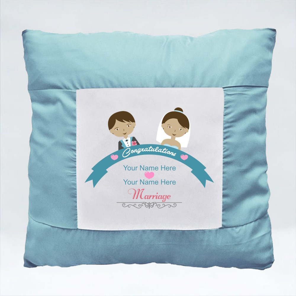 Cushions > Cushions (Square) > Congratulations for Your Wedding