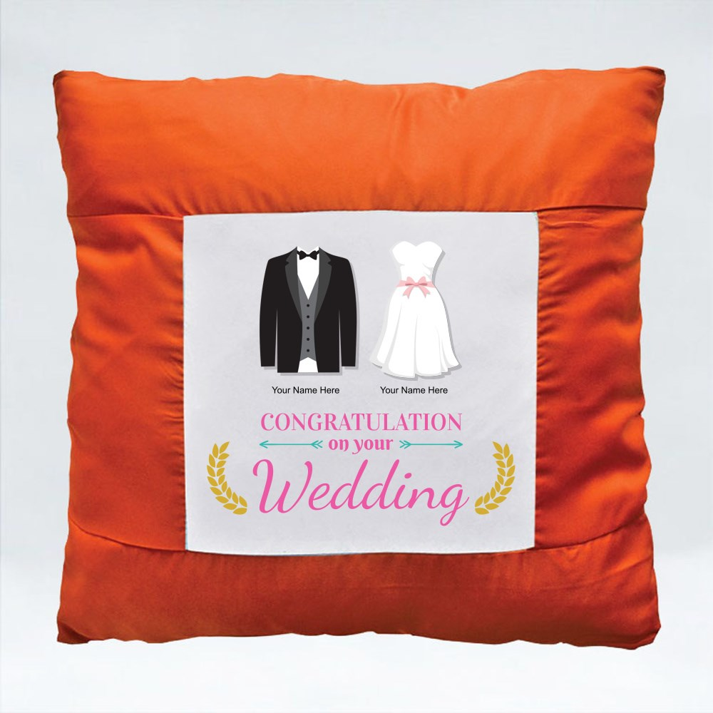 Cushions > Cushions (Square) > Congratulation on Your Wedding