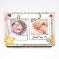 Customize Baby Scrapbook