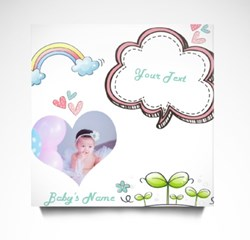 Customize Rainbow Baby