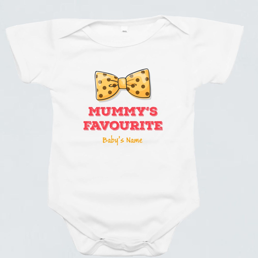 Baby Rompers > Baby Rompers (Short Sleeve) > Mummy's Favourite