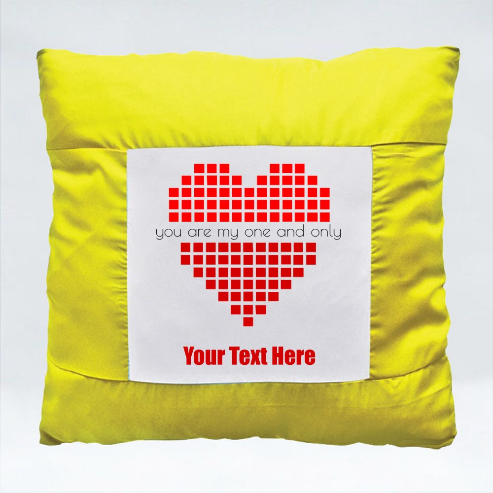 Cushions > Cushions (Square) > Pixel Love With Quotes