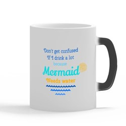 Mermaid Need and Love Water