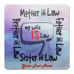 My Wife Is the Law