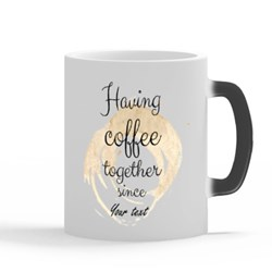 Couple Coffee Mug With Date