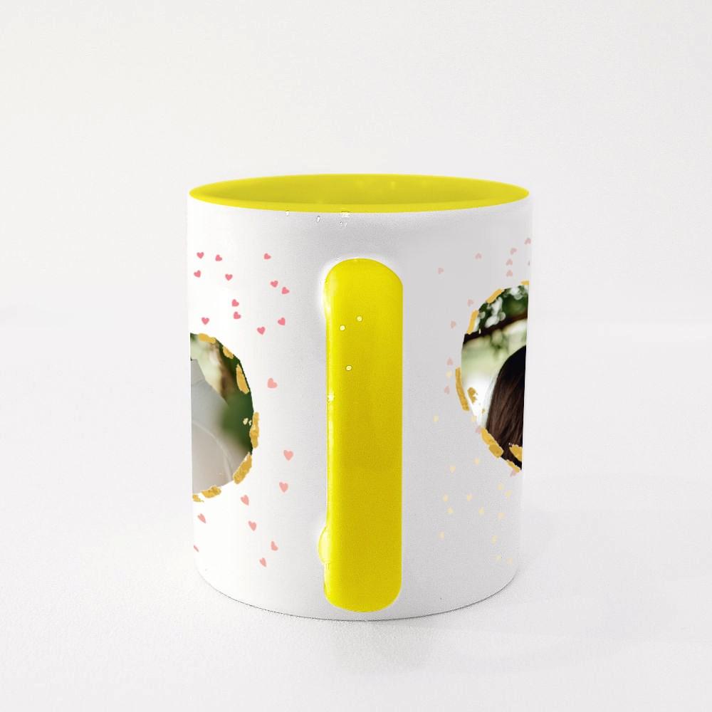 Double Cherry Love Colour Mugs