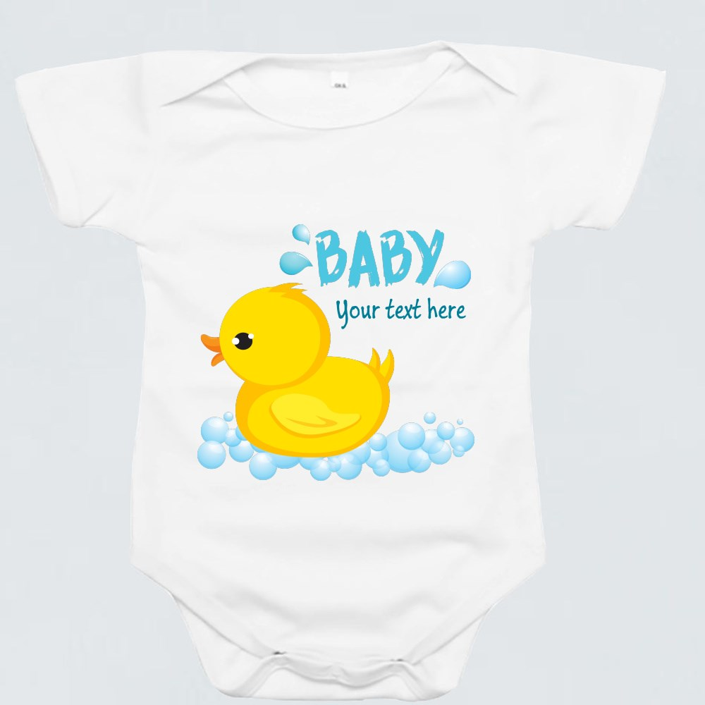 Baby Rompers > Baby Rompers (Short Sleeve) > Rubber Ducky