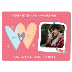 I Remembered Our Anniversary