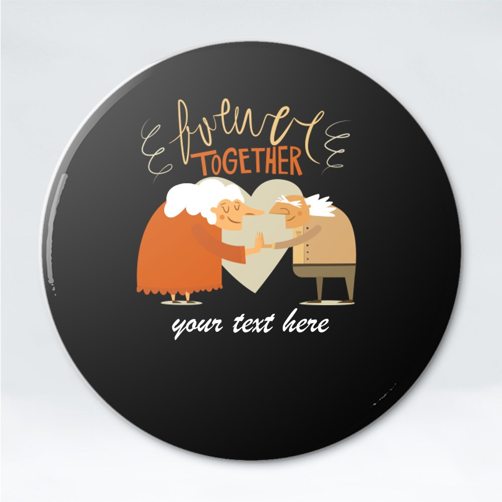 Button Badges > Button Badges (Pin) > Forever Together