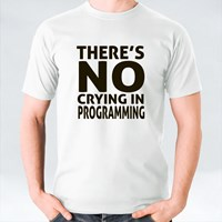 There Is No Crying in Programming