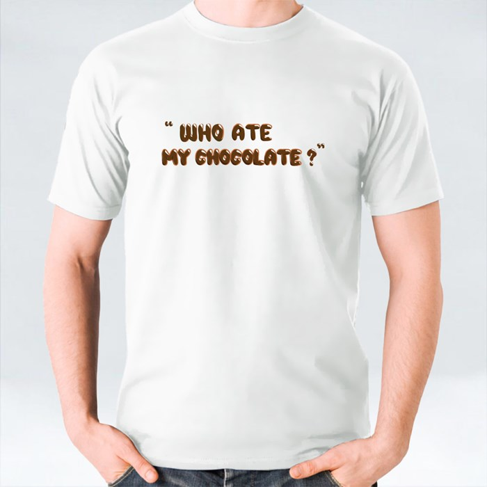 Who Ate My Chocolate T-Shirts