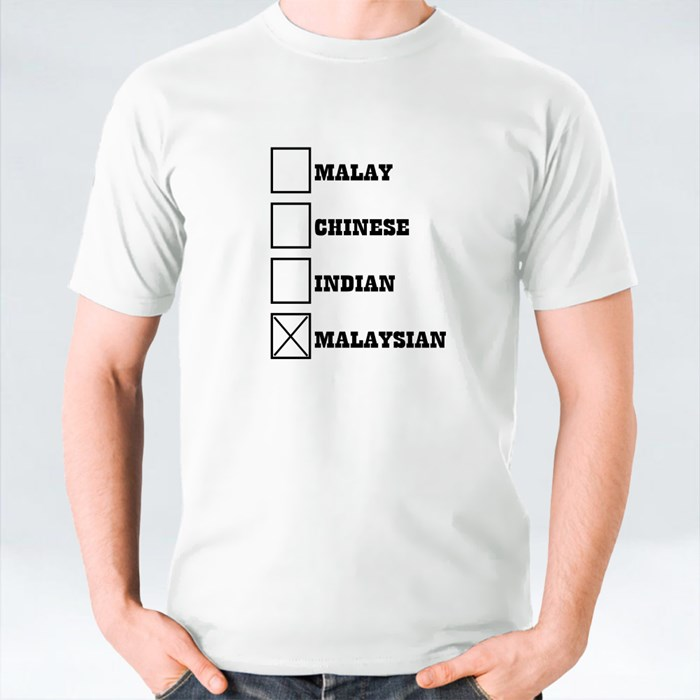 Malay Chinese Indian Malaysian T-Shirts