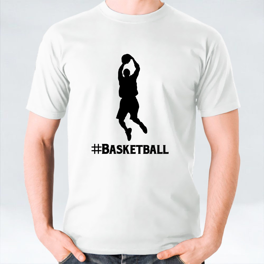 #BASKETBALL T-Shirts
