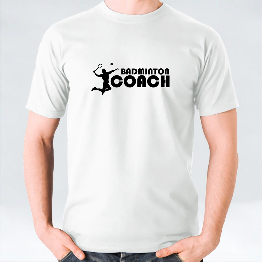 Badminton Coach T-Shirts