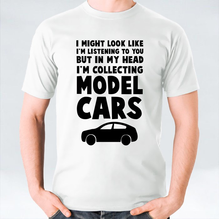 I'm Collecting Model Cars T-Shirts