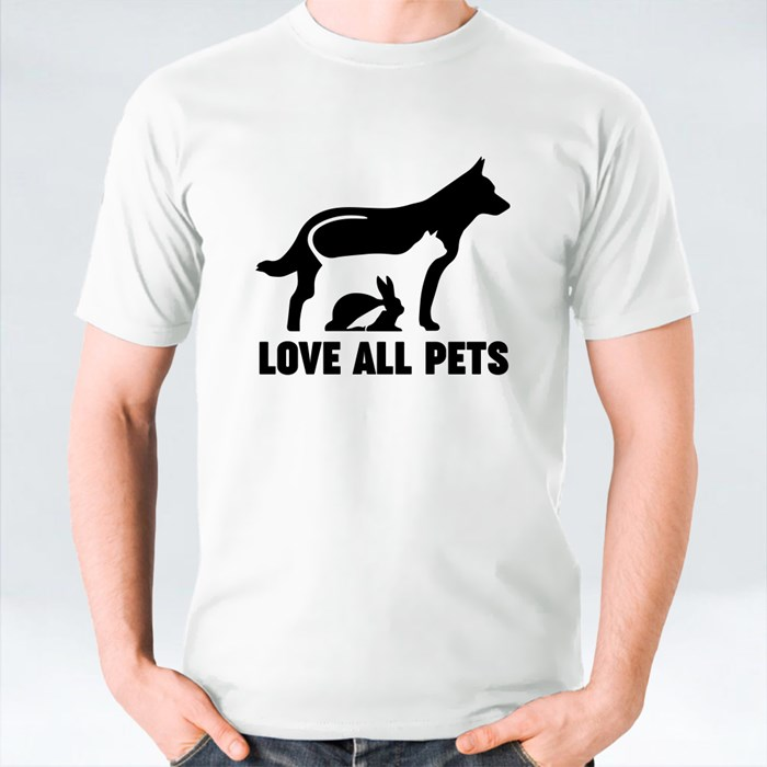 Love All Pets T-Shirts