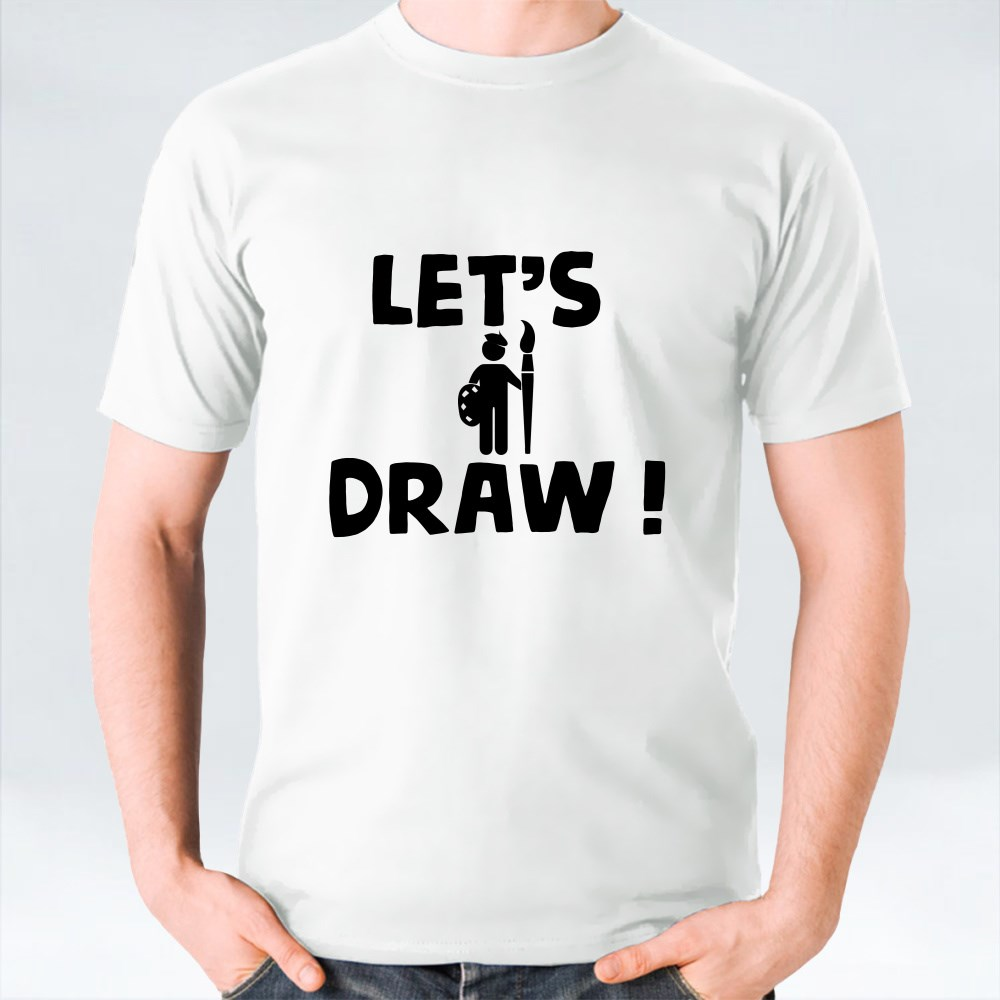 Let's Draw T-Shirts