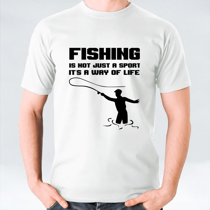 Fishing Is Not Just a Sport It's a Way of Life T-Shirts