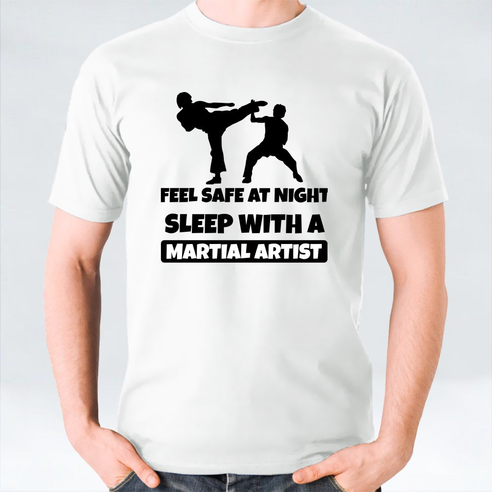 FEEL SAFE AT NIGHT T-Shirts