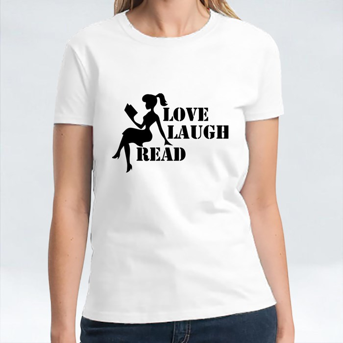 Love Laugh Read T-Shirts