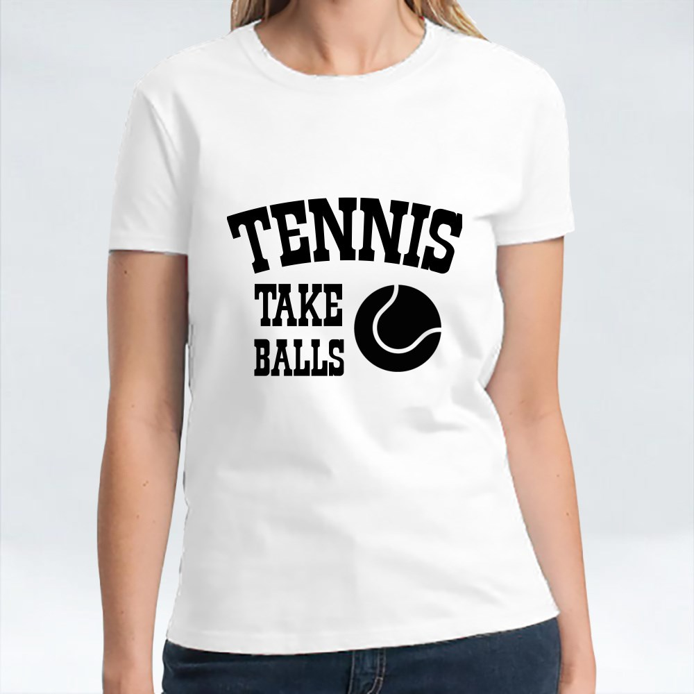 Tennis Take Balls Kaos