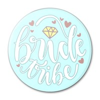 Bride Tribe Blue