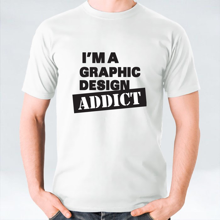 Im-A-Graphic-Design-Addict T-Shirts