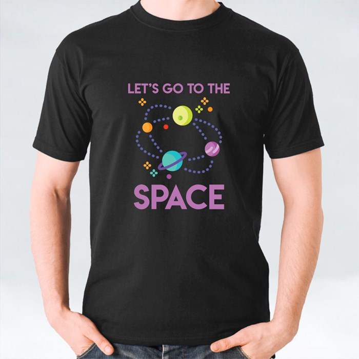 Let's Go to the Space T-Shirts