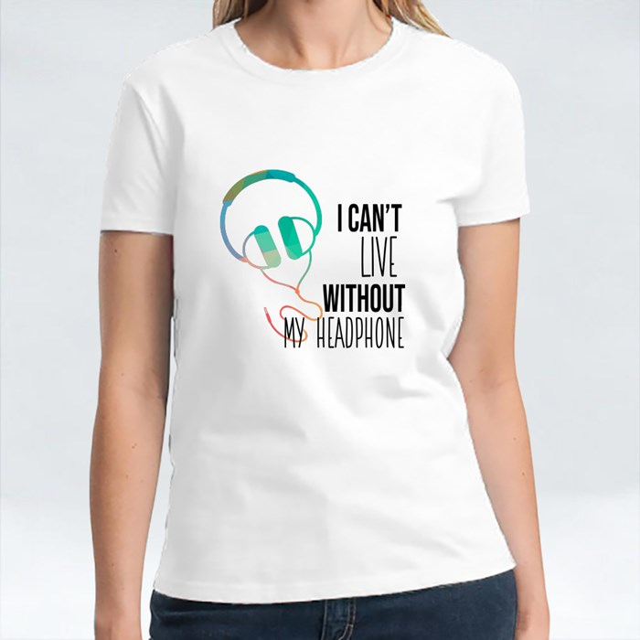 Live Without Headphone T-Shirts