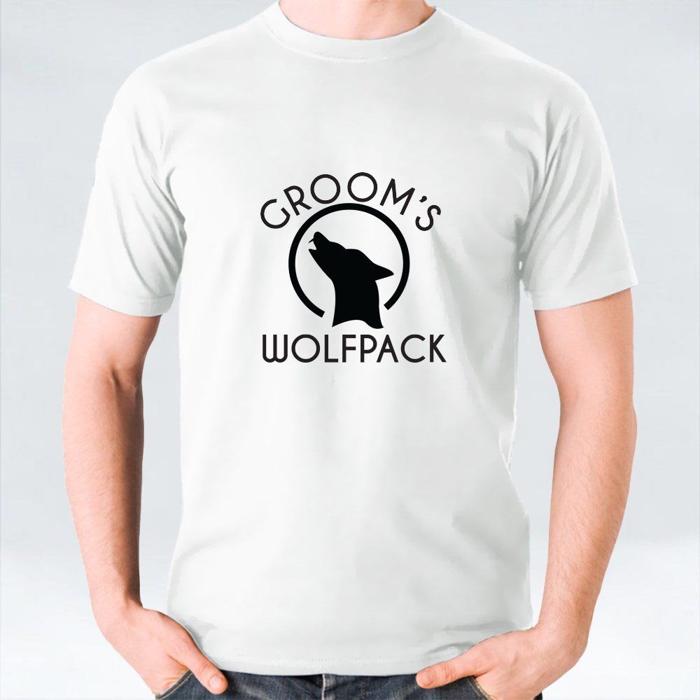 Groom's Wolfpack T-Shirts