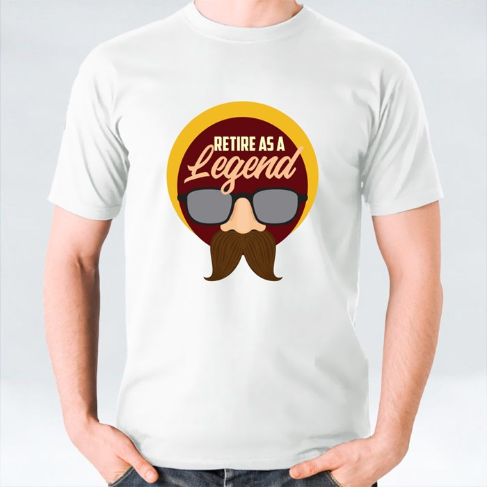 Retire as Legend T-Shirts