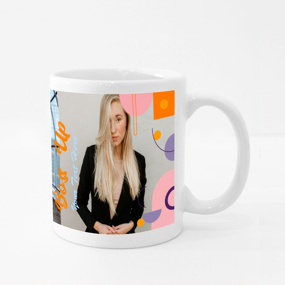 Boss Up Colour Mugs