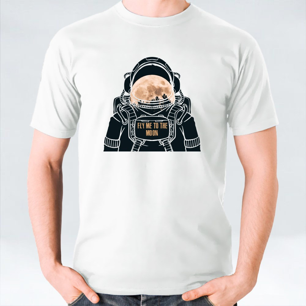 Space Moon T-Shirts