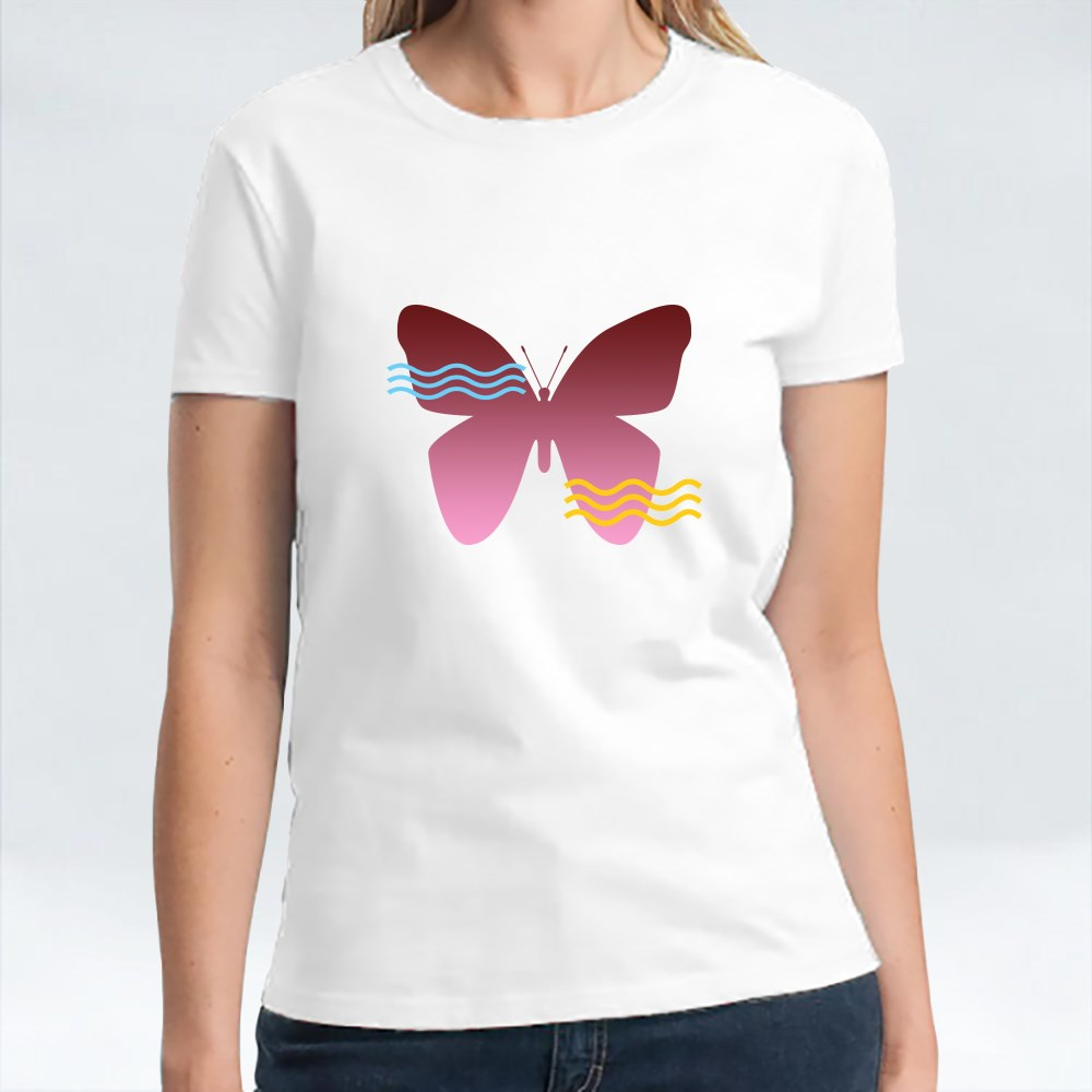 Butterfly in Love T-Shirts